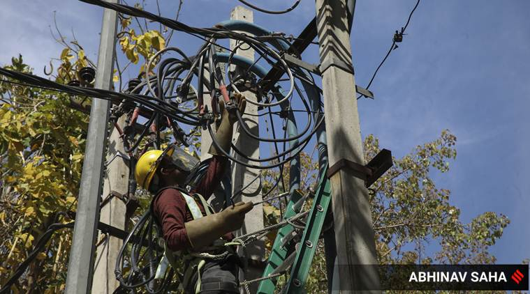 For thousands in power sector, lighter load but work as usual