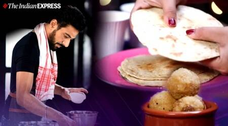 wheat khakra, oil-free food, comfort food, stay safe, stay home, poha laddoo, snacks, hunger pangs, ranveer brar recipes, ranveer brar food recipes, indianexpress.com, indianexpress,