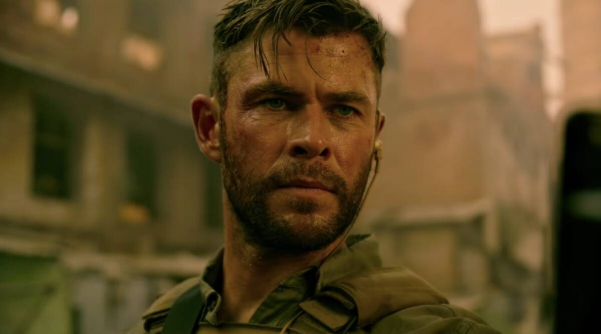 Extraction Dominated By Action But Has A Beautiful Heart Chris Hemsworth Entertainment News The Indian Express