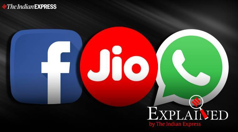 facebook jio deal, jio fb deal explained, what is the facebook jio investment, why fb invest in jio, facebook stake in jio explained, jio whatsapp deal, mukesh ambani facebook deal, indian express explained, explained news,