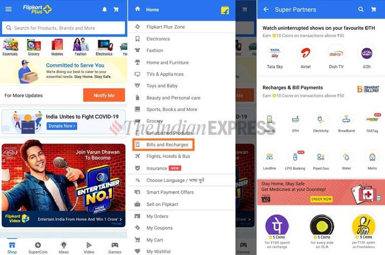 recharge mobile online, pay bills online, how to recharge online, how to pay bills online, recharge with Google Pay, PhonePe, Amazon, Flipkart, Google, SMS, PayZapp, Paytm