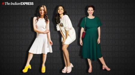 alia, kiara, kalki, anaya pandey, bollywood fashion, mule footwear, indian express news