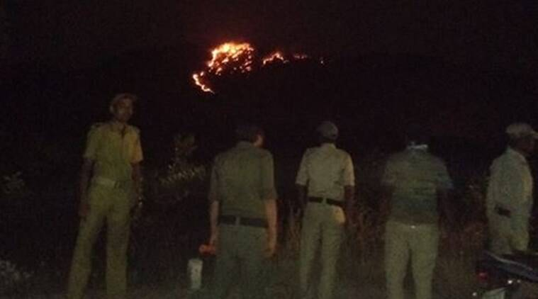 Bengal: Forests of prehistoric Susunia Hills burn for more than 18 hours