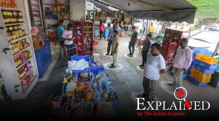 coronavirus, essential services, grocery stores, precautions while shopping for grocery, grocery store workers, grocery store hygiene, coronavirus spread fear, indian expres news