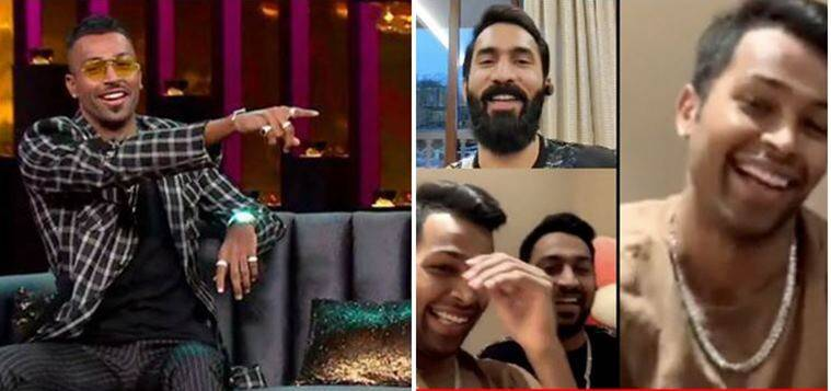 hardik pandya, dinesh karthik, Koffee With Karan, Koffee With Karan controversy,  hardik pandya controversy, dinesh karthik, hardik pandya video, cricket news, sports news