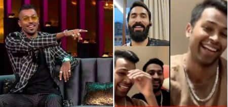 hardik pandya, dinesh karthik, Koffee With Karan, Koffee With Karan controversy, hardik pandya controversy, dinesh karthik, hardik pandya video, cricket news, sports news