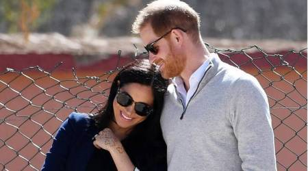 Harry and Meghan, British tabloids, indian express, indian express news