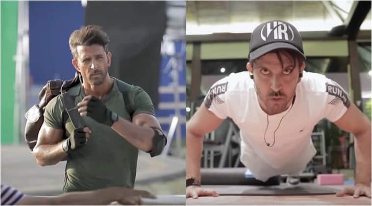 Hrithik Roshan documents his fitness journey for War