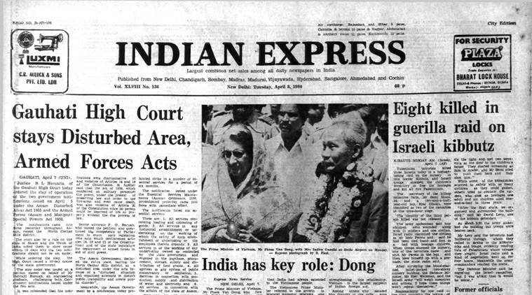 Forty Years Ago, April 8, 1980: Assam status quo