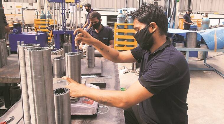 coronavirus, india lockdown, gujarat cm, Vijay Rupani, gujarat industries, gujarat export industries, gujarat industries to reopen, indian express news