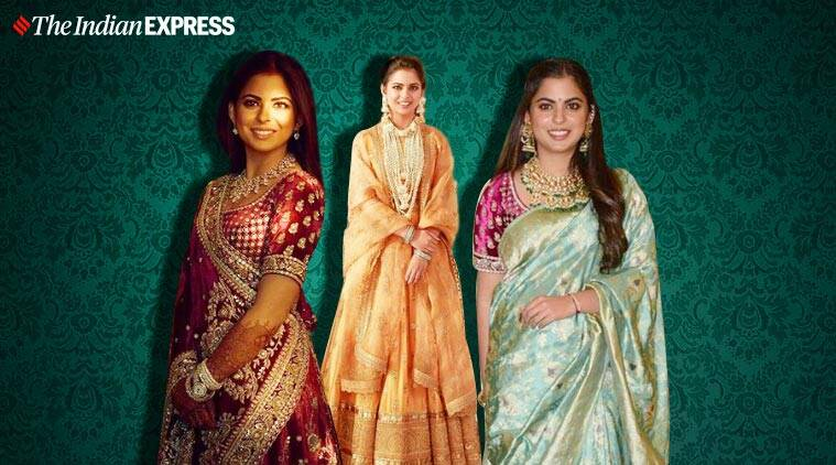 A throwback to all the times Isha Ambani rocked in Sabyasachi creations