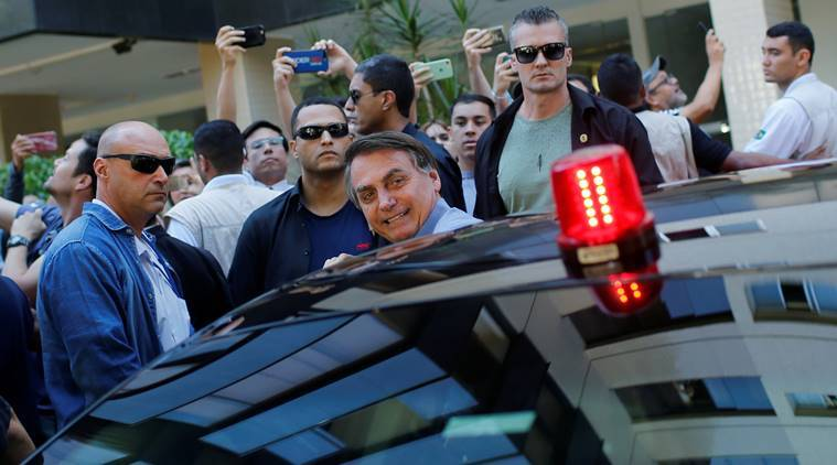 Brazil's Bolsonaro hits the streets in latest social distancing snub