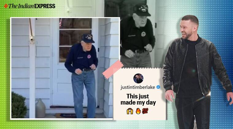 Watch: World War II veteran dances to Justin Timberlake hit, singer praises performance