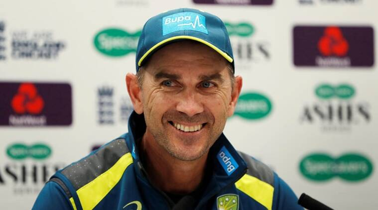 The left-hander Justin Langer