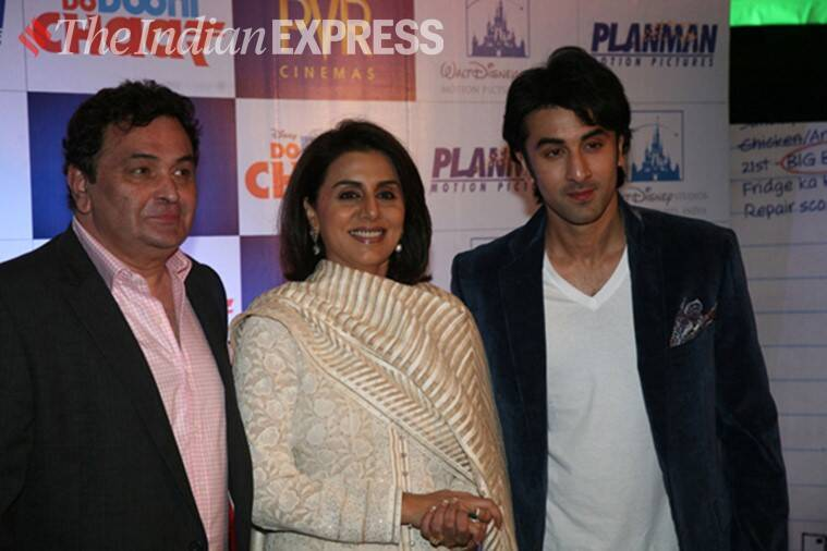 rishi, neetu and ranbir