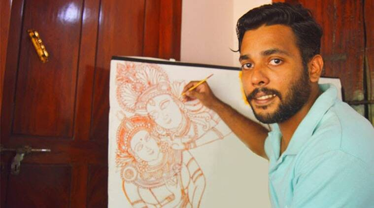 Kerala: A Covid-19 survivor finds solace in art, has new life lessons for all