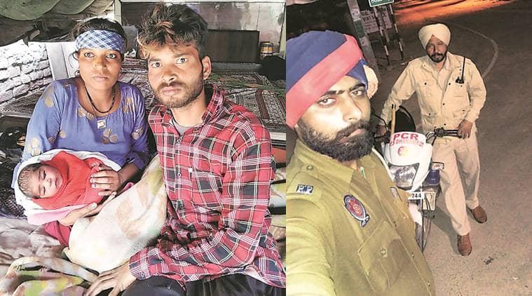 punjab women, punjab hospital, punjab hospital staff, punjab hospitals turn away preganant wpmen, punjab women delivers child on street, punjab police, indian express news