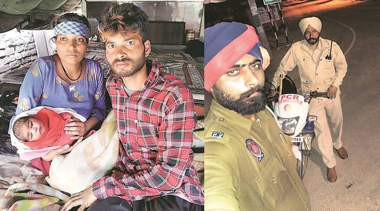3 hospitals turn couple away, two Punjab cops help woman deliver child on roadside