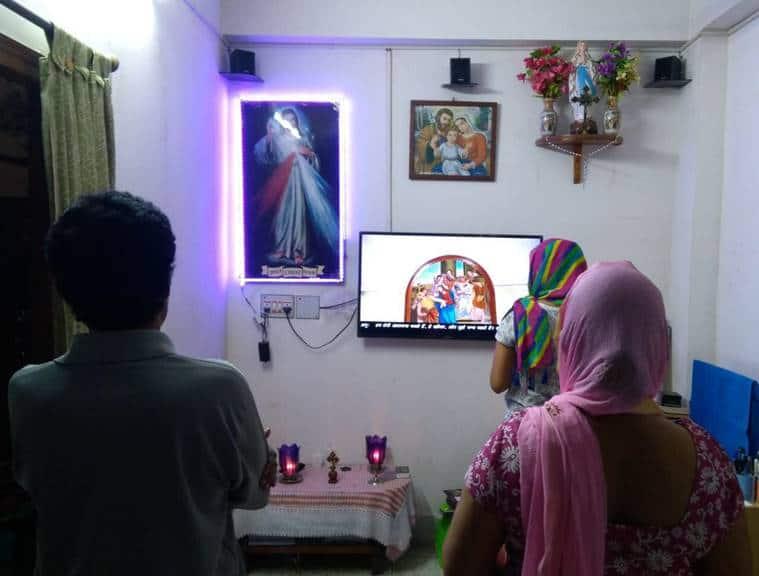 coronavirus world, Good Friday mass live-streamed, india lockdown, west bengal news, indian express news