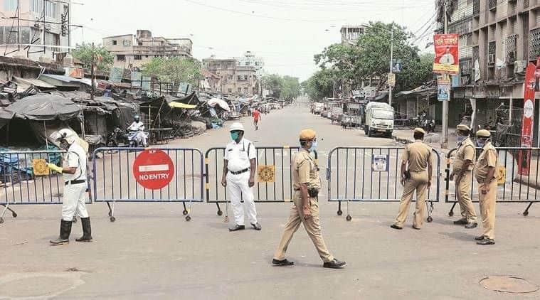 coronavirus, coronavirus in kolkata, mamata banerjee, Jyotipriya Mullick, kolkata police, kolkata policemen injured, kolkata ration supplies protest, indian express news