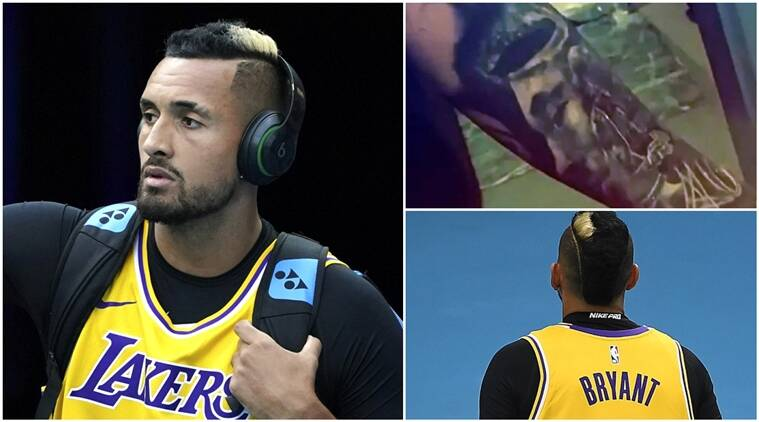 Kobe With Me Forever Nick Kyrgios Reveals Tattoo Tribute To Nba Legend Bryant Sports News The Indian Express