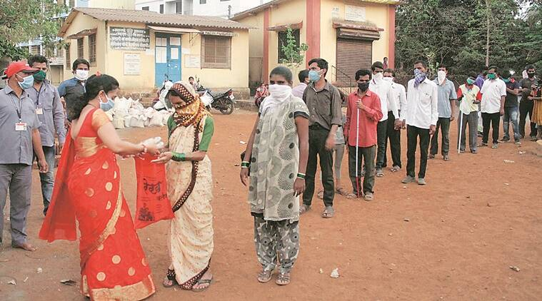 Sixty km away from Mumbai: Shutting down of local trains has left 400-odd visually impaired residents of Vangani jobless