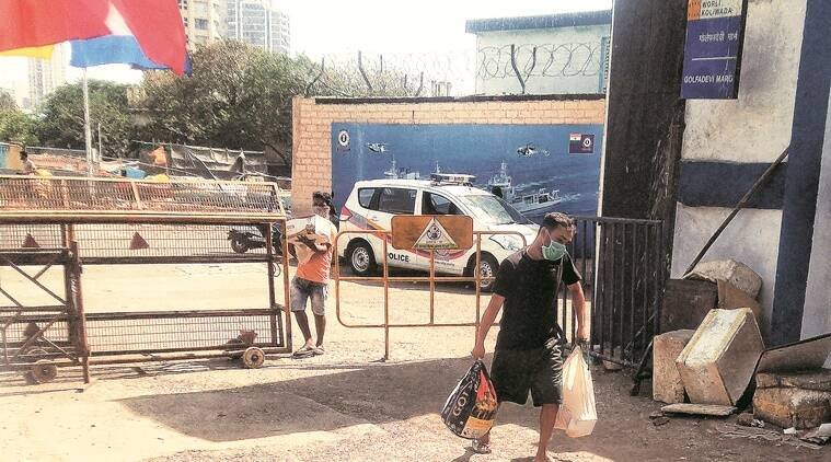 Life inside containment zones: Locals learn to deal with shortages, curbs in Worli Koliwada