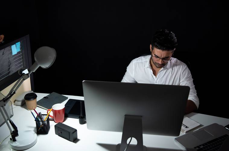working from home, losing track of time, natural body clock, indian express, indian express news