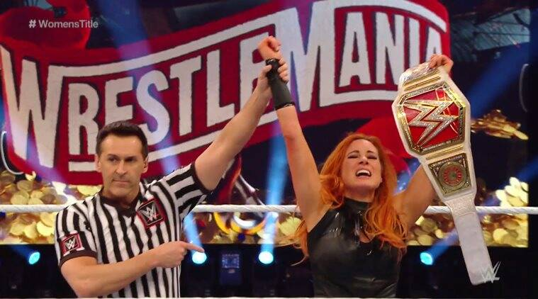 WWE WrestleMania 2020 Day 1 results: Becky Lynch retains her title