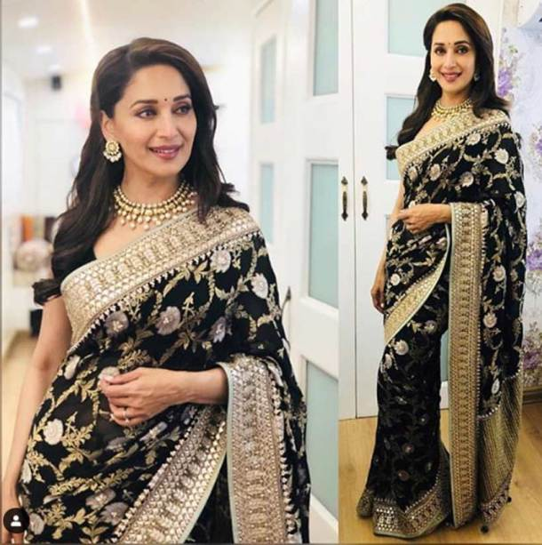Cant decide on a sari? Take tips from Madhuri Dixits