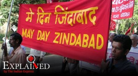 May Day, Labour day, why is labour day celebrated, May 1 significance, why is May 1 Labour Day, when did India first celebrate labour day, labour day history, express explained, indian express