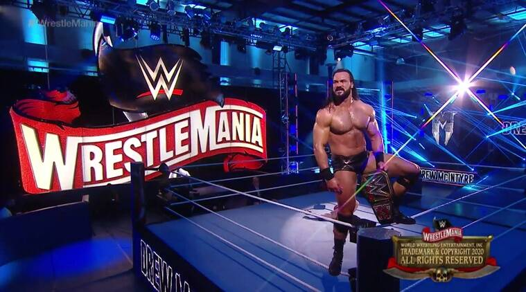 WWE WrestleMania 2020 Day 2 results: Drew McIntyre slays Brock Lesnar to win the WWE championship