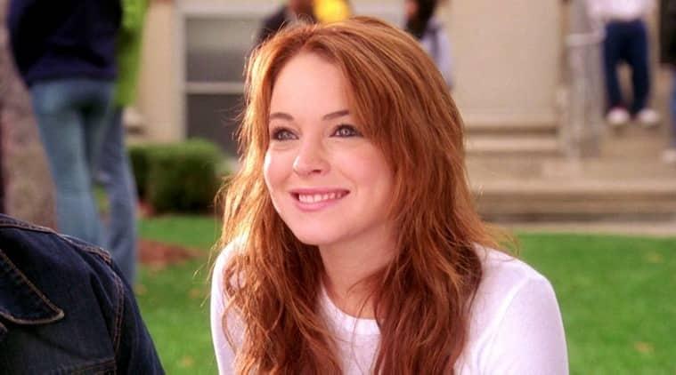 mean girls Lindsay Lohan stills