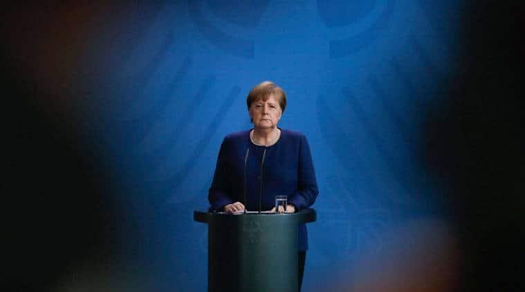 Merkel calls for international cooperation against virus