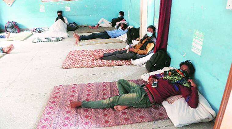 Bellies filled with food, hearts longing for home: Story of migrant labourers at a shelter home