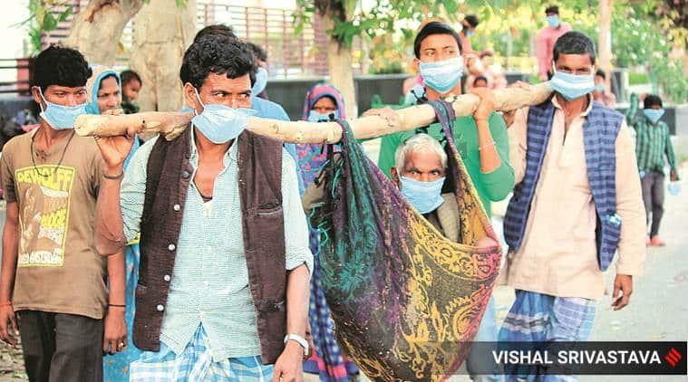 India lockdown, coronavirus, coronavirus lockdown, India migrants, migrants lockdown, covid 19, ABHIJIT BANERJEE on India lockdown, ESTHER DUFLO,