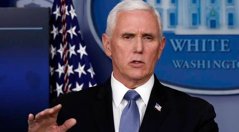 US states have enough coronavirus tests to follow guidelines to reopen: Mike Pence