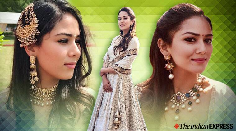 Mira Rajput, mira rajput fashion, mira rajput wedding jewellery repeat, repeating wedding jewellery, indian express news