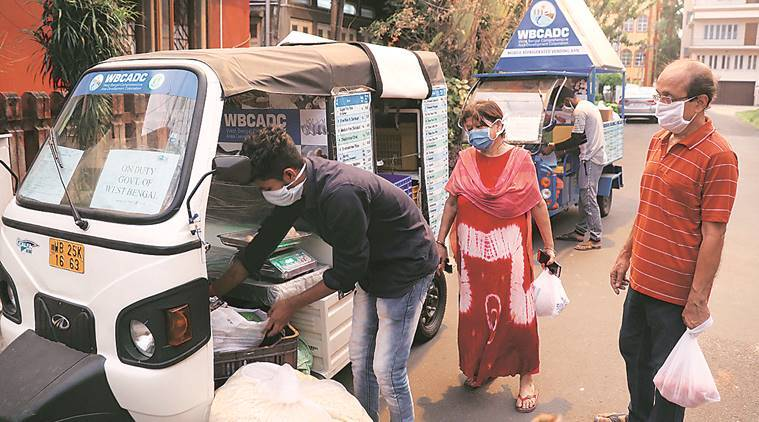 Get goods delivered at doorstep, courtesy Bengal govt's mobile stalls