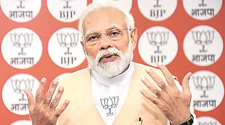 PM Modi lists five tasks for BJP workers in COVID-19 fight