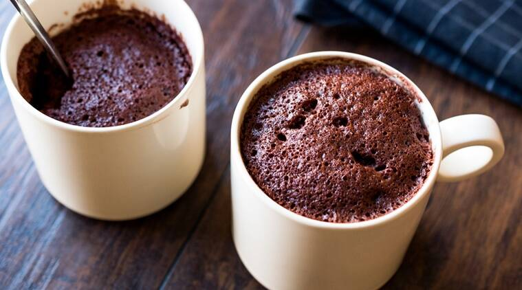 Here's how you can bake a cake in a mug in less than two minutes