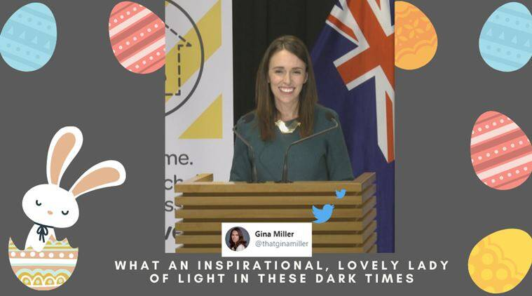New Zealand PM Jacinda Ardern wins hearts after saying 'Easter Bunny' is essential worker