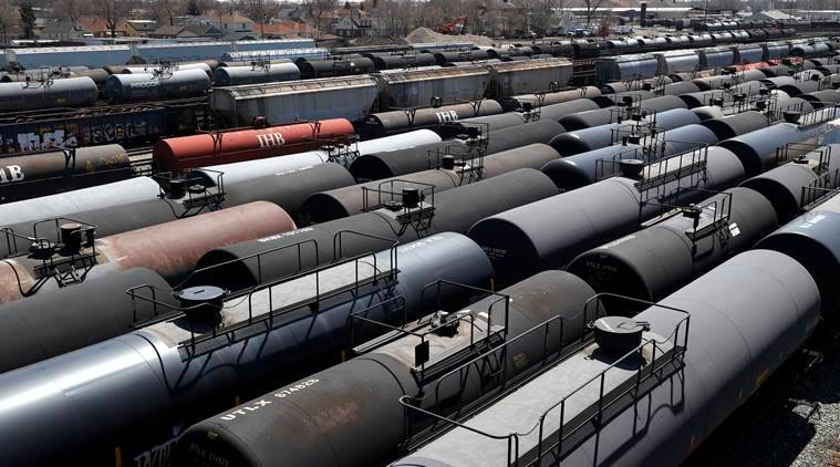 Ships, trains, caves: Oil traders chase storage space in world awash with fuel