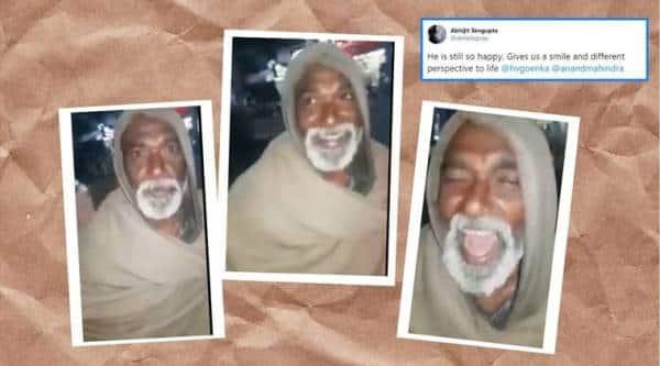 beggar from Patna sings Jim Reeves, beggar patna viral video, Jim Reeves songs, trending, indian express, indian express news