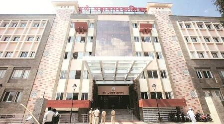 Pune municipal corporation, pmc, pmc video conference, pmc meeting, Pune news, indian express