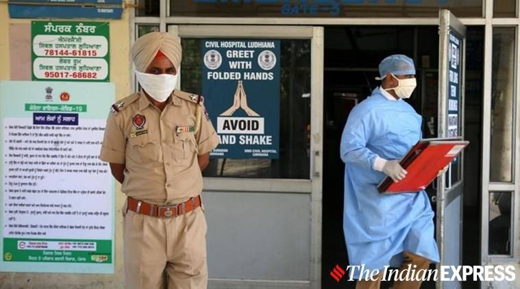 coronavirus, punjab police, theft accused test positive, thest accused recovered, theft accused refused to take back by family, ludhiana theft accused, indian express news