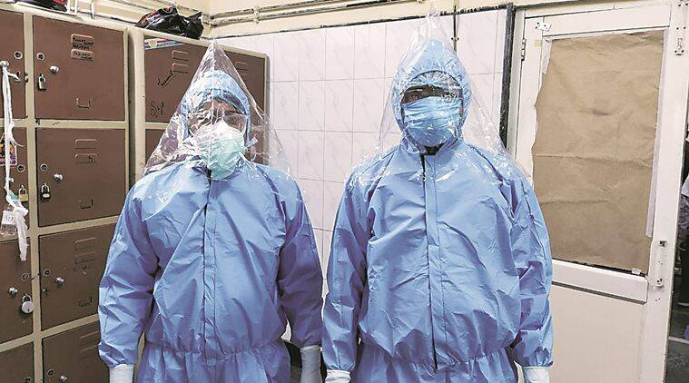Coronavirus cases, PPE priduction, Chandigarh news, Punjab news, indian express news