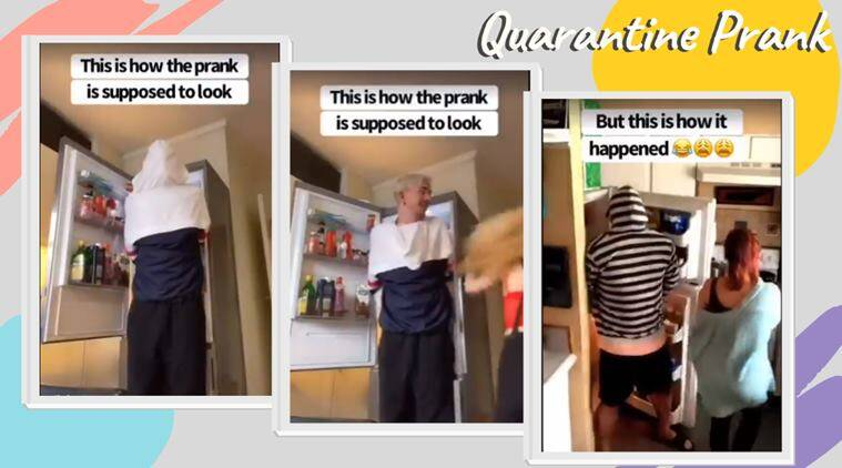 Viral video: Epic fail of a 'quarantine prank' has people laughing out loud