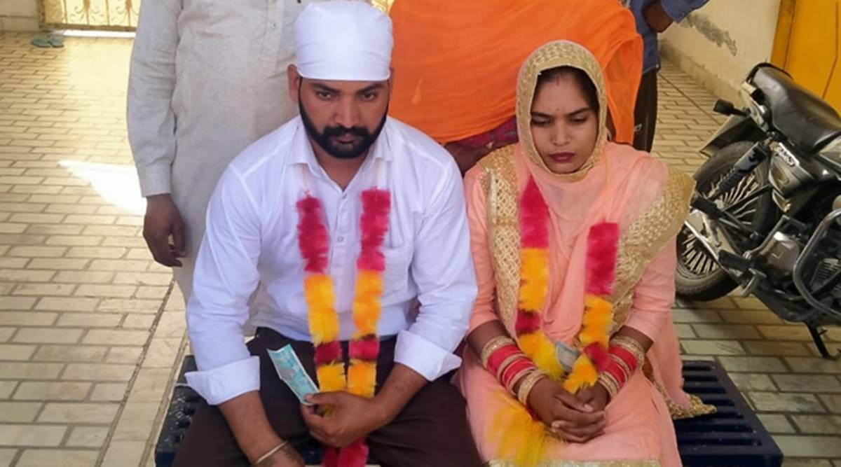 Punjab Cops Get Estranged Couple Married After Past Catches Up With Groom On Way To Wedding Venue India News The Indian Express