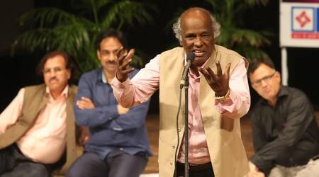 rahat Indori, rahat indori death, rahat indori mushaira, rahat indori ghazal, rahat indori CAA protest slogan, urdu poetry, rahat indori mushaira, rahat indori poetry, express opinion, khalid alvi, indian express